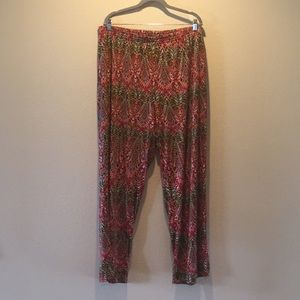 Palazzo pants, multicolored